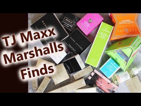 More TJ Maxx & Marshall's Finds | High End Makeup & Skin Care 2017