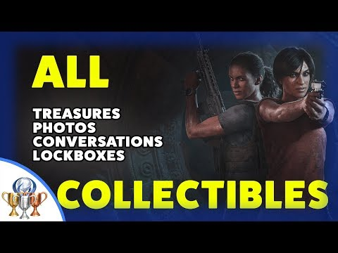 Uncharted The Lost Legacy - All Collectibles (Treasures, Photos, Optional Conversations & Lockboxes)