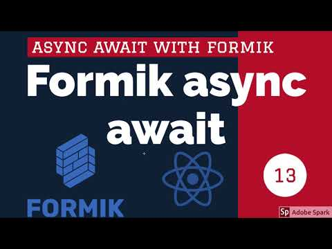 React Formik async form submission #15