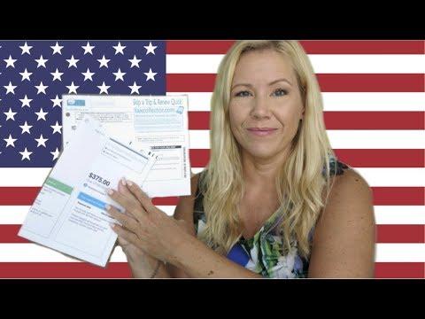 Soviel Bezahlen Wir Für Autoversicherung & Autosteuer In Den USA 🚗| Sissi Die Auswanderin 🇺🇸