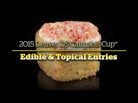 2015 Denver Cannabis Cup: Edible & Topical Entries