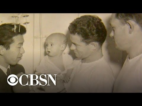The Morning Rush - Navy medic reunited with baby he saved in Korean war.