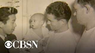Navy medic reunites with baby saved during Korean War