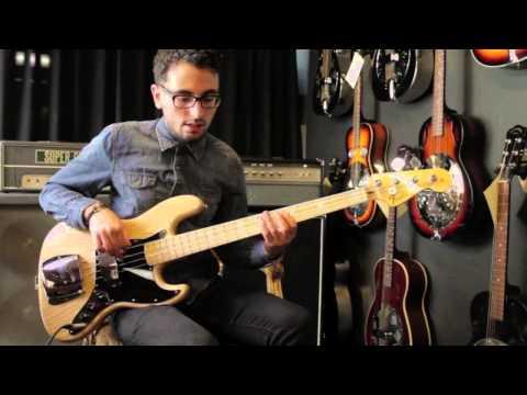 Fender American Vintage '74 Jazz Bass @ JnR Music Center