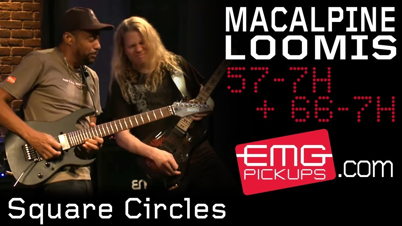 """Tony MacAlpine and Jeff Loomis play """"Square Circles"""" live on EMGtv"""