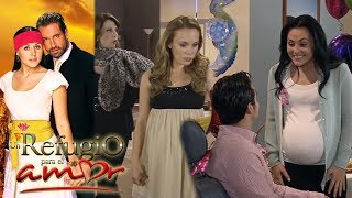 Un refugio para el amor - Capítulo 129: ¡El baby shower de Gala y Luciana! - tlnovelas