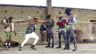 Shatta Wale Gringo Dance story video {film} by YKD yewo krom dancers