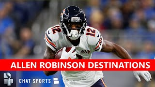 Nfl trade rumors are buzzing around allen robinson as the bears #1 wr is unhappy with current state of contract negotiations. claims he wants to...