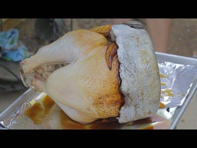 Molten Aluminum Deep Fried Turkey (Thanksgiving Special!!!)