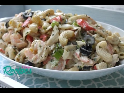 How to make Seafood Macaroni Salad – I Heart Recipes