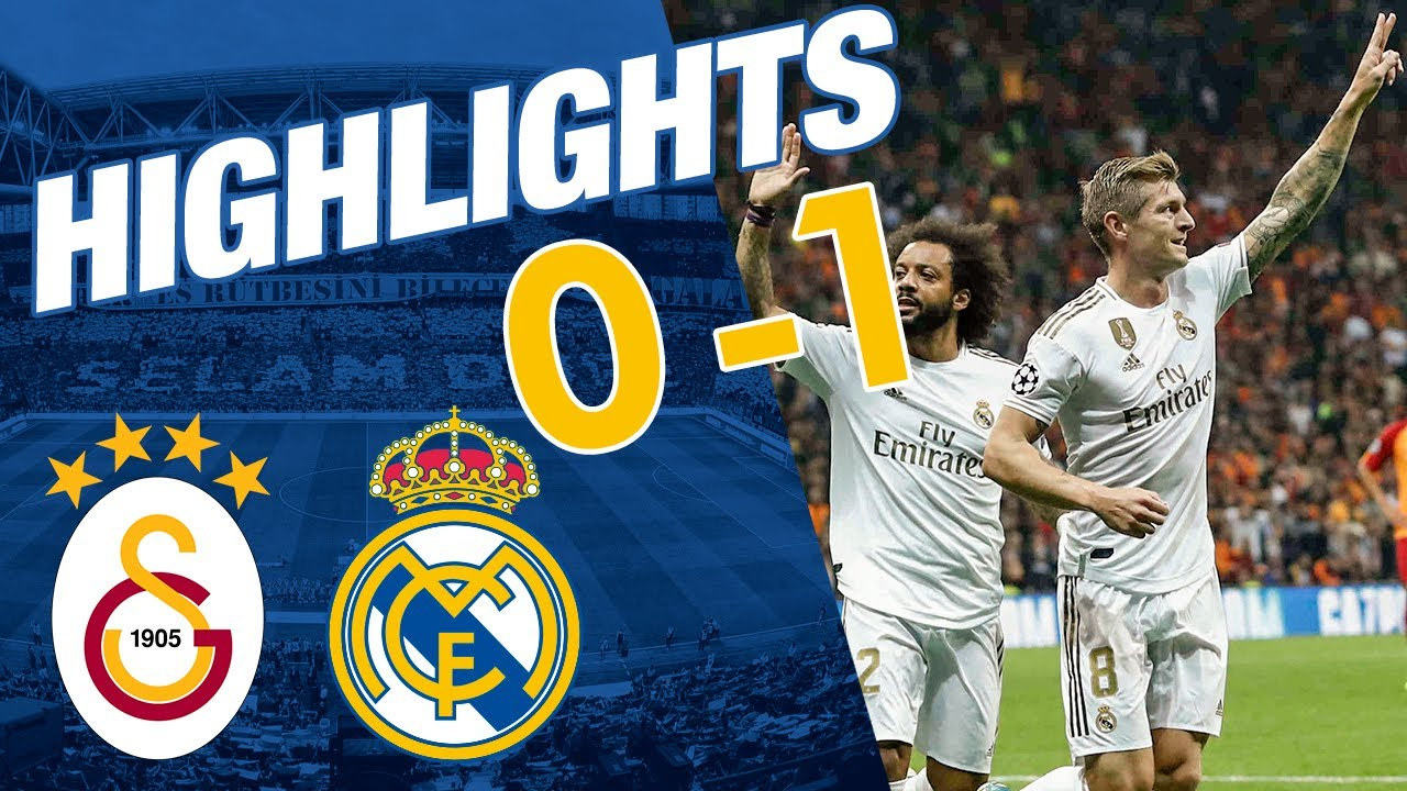 Highlights Galatasaray 0 1 Real Madrid Youtube