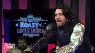 Bucky Barnes Roasts Captain America! - The Roast of Captain America