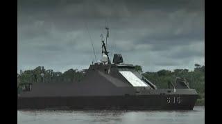 Surcando las aguas del río Putumayo: así combate la delincuencia la Armada Nacional