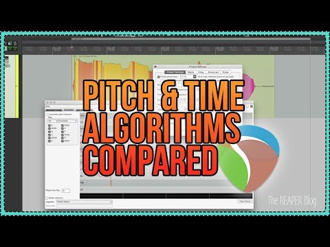 Pitch and Time Stretch Algorithms Compared for Music Production