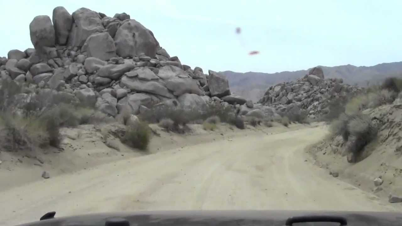 Geology Tour Road Joshua Tree National Park YouTube