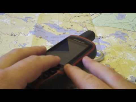 How to Find Your Position on a Topo Map Using a GPS & UTM