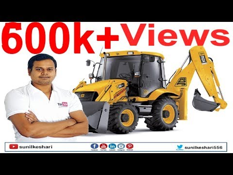 jcb working videos in india