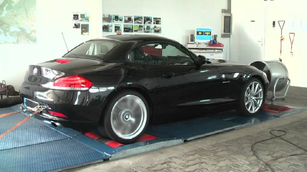 bmw z4 35i biturbo pr standslauf mit chiptuning und vmax aufhebung von ctk kiel youtube. Black Bedroom Furniture Sets. Home Design Ideas
