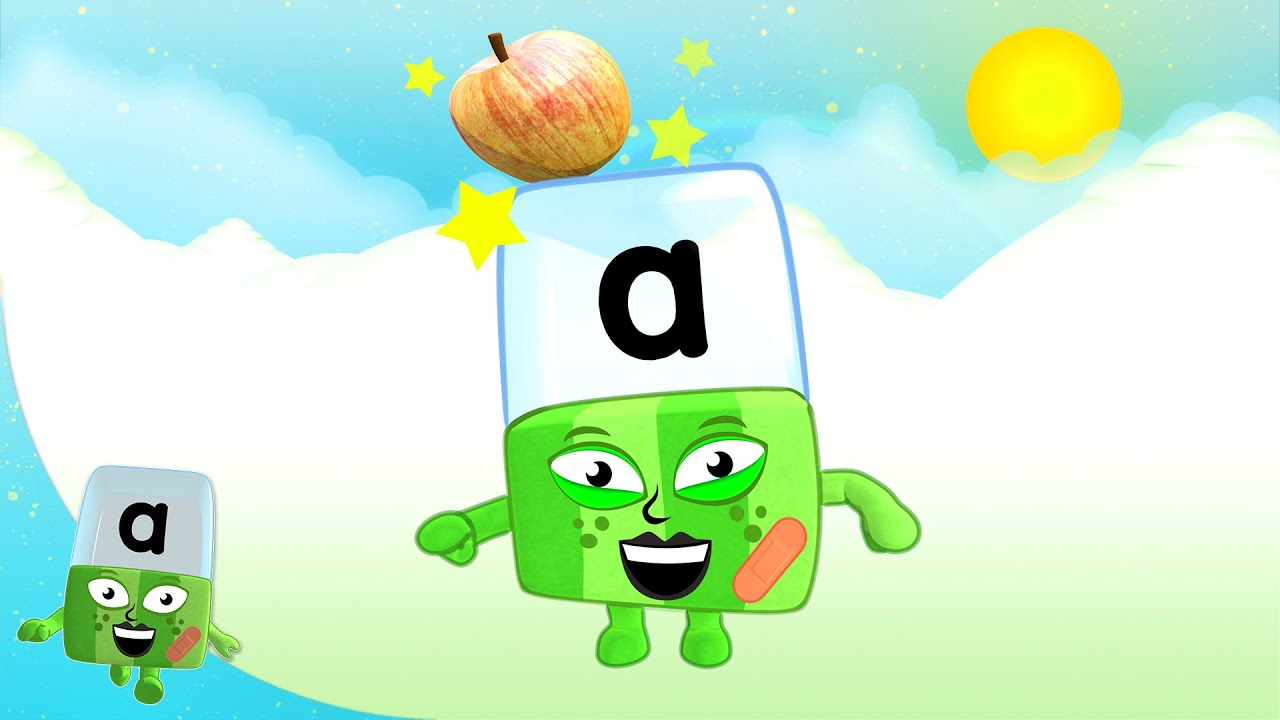 Alphablocks - A Stands for August | Learn to Read | Phonics for Kids | Learning Blocks
