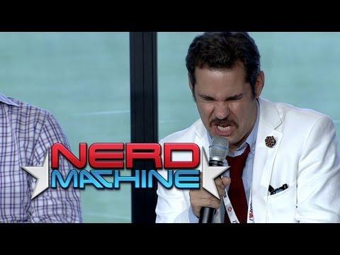 """Thrilling Adventure Hour"" Highlights: Conversation w/ Cast - Nerd HQ (2013) HD - Paul F. Thompkins"