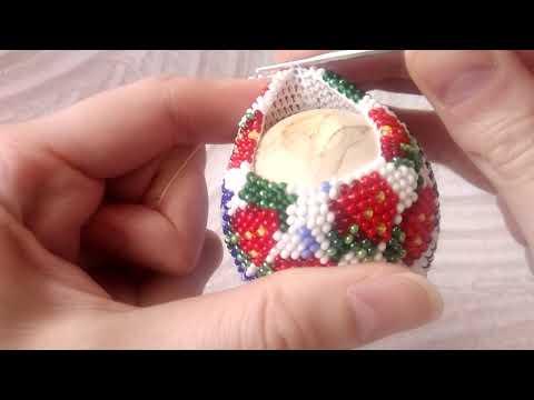 Как я вяжу убавки в шарах, яйцах с петлей подъема.