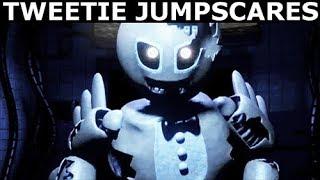 Jolly 3 - Tweetie Animatronic Jumpscares (FNAF Fan Horror Game 2017)