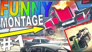 ★ Racing Game FUNNY MONTAGE #1 (GTA V, The Crew, Driver SF, Gmod, DiRT 3 Mods, etc) ★