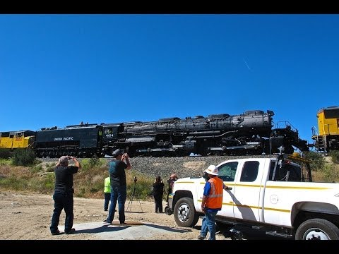 Union Pacific 4014 Big Boy - Farewell California