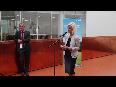 Ulla Tørnæs: SDU spiller en nøglerolle. Det er mig en glæde at kunne bevilge 30 mio.