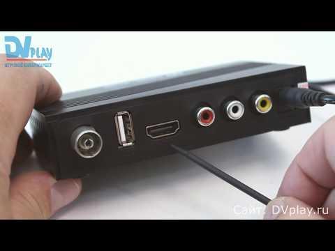 Oriel 415D - обзор цифровой приставки DVB-T2/C