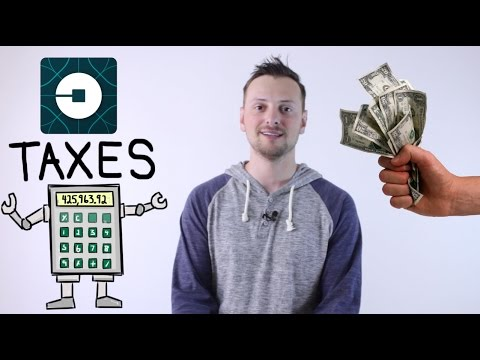Taxes For Uber & Lyft - How Much I Paid For 2016