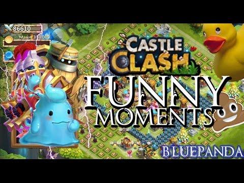 Castle Clash: Funny Moments
