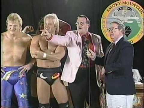 Smokey Mountain Wrestling The Man Under the Sheet