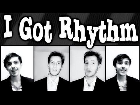 I Got Rhythm (Gershwin) - A CAPPELLA barbershop quartet - Trudbol & JRoseJazz