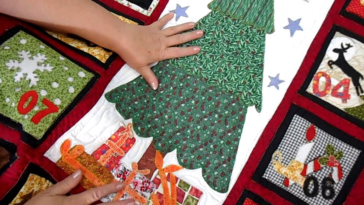 patchwork calend rio de natal 02 m patchwork youtube. Black Bedroom Furniture Sets. Home Design Ideas