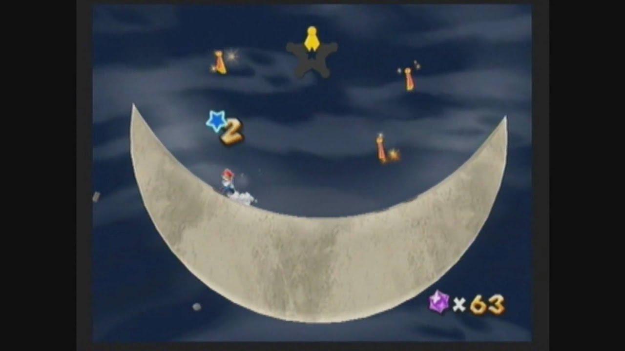 Super Mario Galaxy 2 - Boo Moon Galaxy secret star: The ...