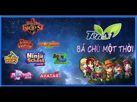 Game teamobi bá chủ một thời – ( ngọc rồng online, ninja school, avatar, hải tặc tí hon, …… )
