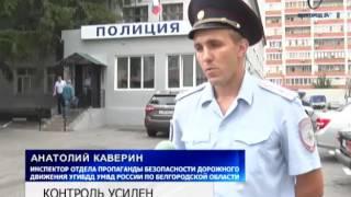 За прошедшую неделю в Белгородской области произошло 24 крупных ДТП(Новости телеканала Белгород 24., 2016-07-21T19:56:03.000Z)