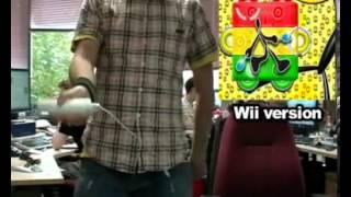 Samba De Amigo control: Wii vs Dreamcast
