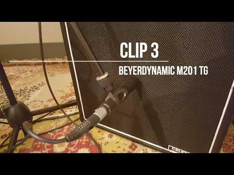 Shure SM57 vs Beyerdynamic M201 TG vs M88 TG mic comparison