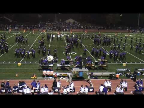 111408 Amador Valley High School Marching Band Hal...