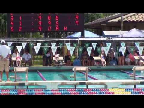 NAOMI NAKAYA - Kamehameha Swim Club - 10/12/2013 - 50 yard butterfly