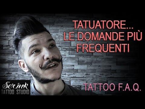 Le domande più frequenti fatte ad un Tatuatore ( Tattoo F.A.Q. )
