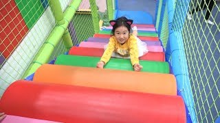 Boram and Pororo Black Noodle in The Indoor Playground