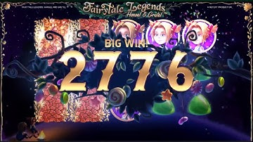 BIG WIN On Fairytale Legends Hansel Gretel Slot Machine