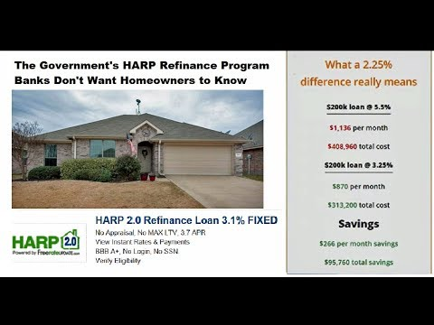 HARP Refinance Banks Don't Want Homeowners to Know