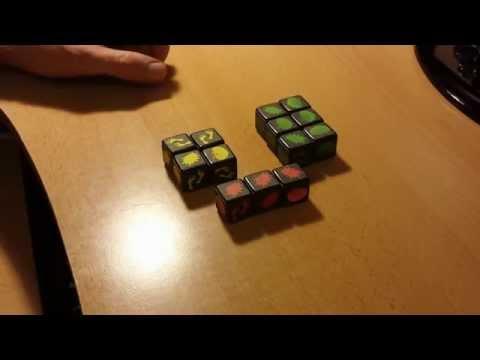 Настольные игры своими руками 2 - Zombie Dice