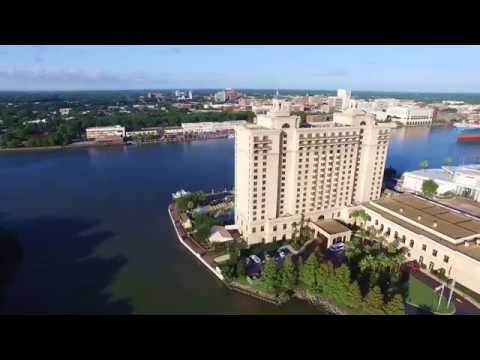 The Westin Savannah Harbor Golf Resort And Spa Drone View