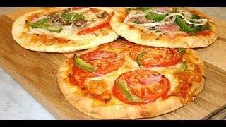 Готовим с Тинкой-быстрая пицца на лаваше))