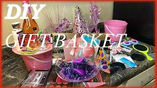 DIY Gift Basket ( Beauty Makeup Edition )